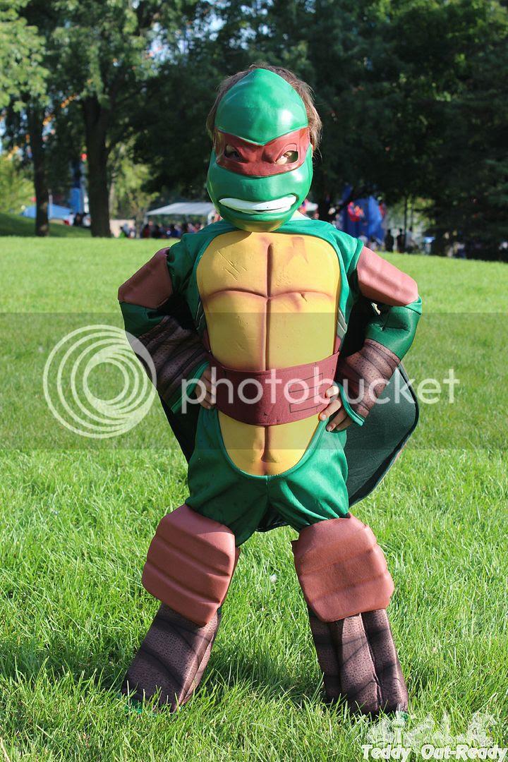 Raphael Costume Front