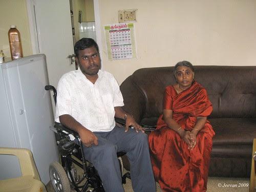 Meeting with Karthik amma