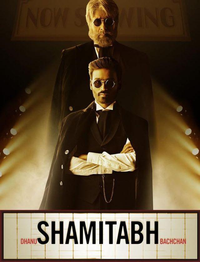 البوستر الدعائي الأول لفيلم Shamitabh