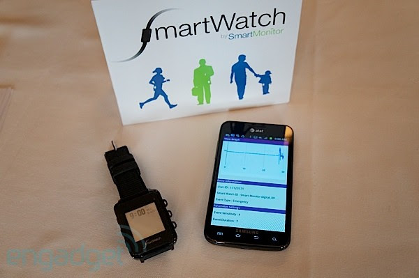 Hands-on with Smart Monitor's SmartWatch, the seizure sensing wristwatch