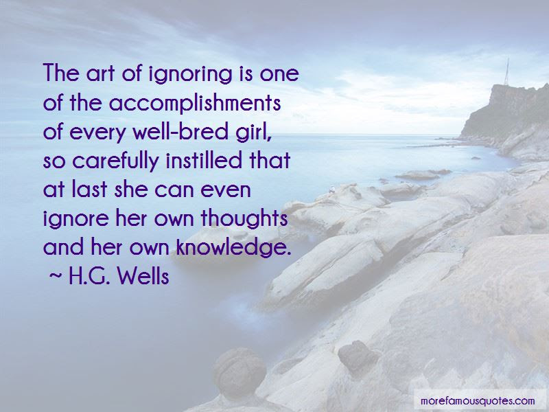 Ignoring A Girl Quotes Top 8 Quotes About Ignoring A Girl From