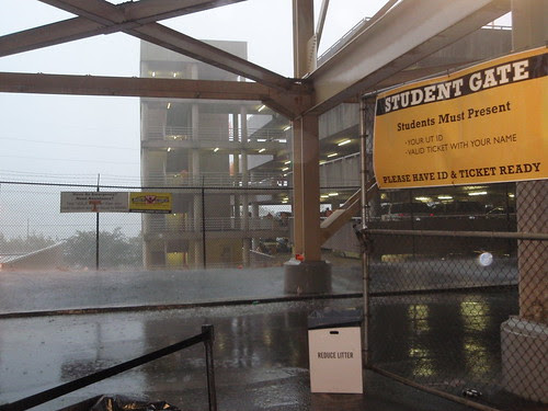 downpour at gate 4