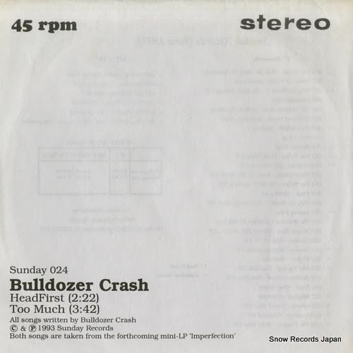 BULLDOZER CRASH headfirst