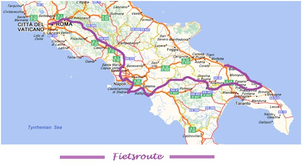 zuid italie kaart Kaart Zuid Italie Puglia | Kaart