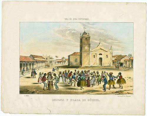 Iglesia y Plaza de Guines