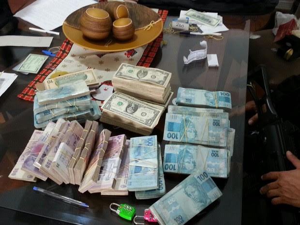 Movimentação dos grupos chegava a 600 milhões de dólares por ano (Foto: Polícia Federal/Divulgação)