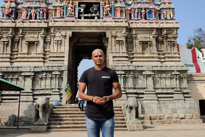 'Feeling Blessed' - T Natarajan Shaves Head in Palani Temple, Shares Picture