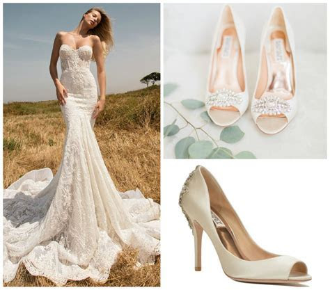 Bridal Shoe Choices Depending on the Style of the Dress