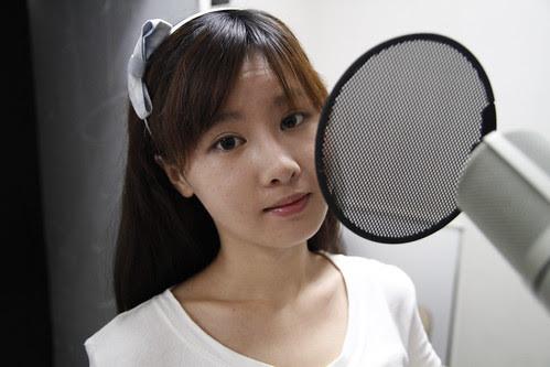 Tao Sha before voice recording