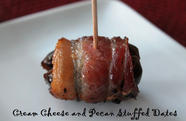 Cream Cheese and Pecan Stuffed Dates – My Recipe Reviews