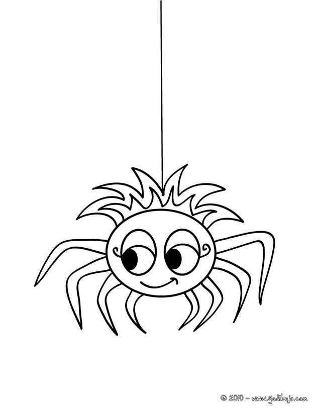 Colorear Arañas 6 Dibujos De Araña Para Colorear Y Dibujos
