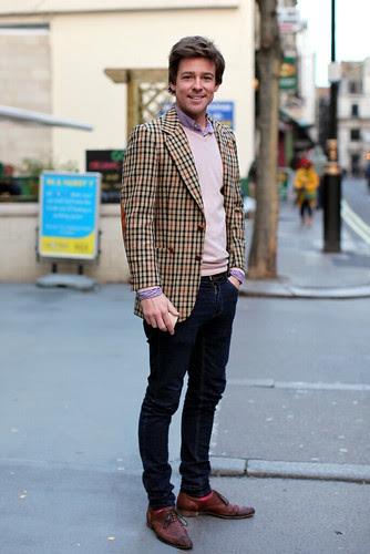 Um casaco xadrez será sempre um (bonito) casaco xadrez