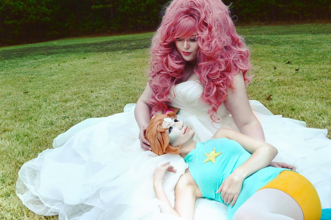 Pearl: Me ☆ Rose Quartz: Ann Michelle Photography: Michael Hancock
