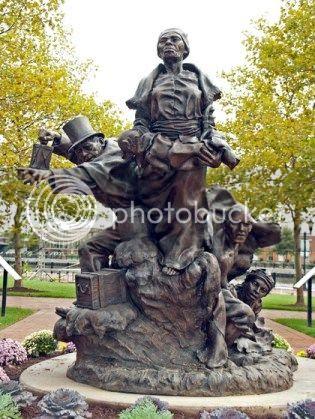 monument to Harriet Tubman and Thomas Garrett