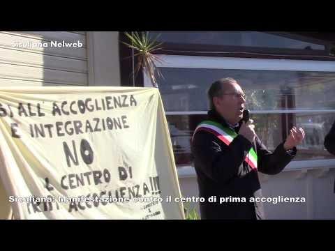 Comitato del Cittadino, Manifestazione contro il centro di accoglienza