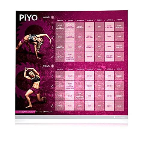 beachbody piyo dvd workout pilatesyoga workout includes