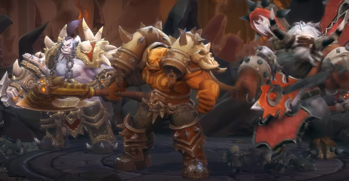 Garrosh is a pure tank in Heroes of the Storm screenshot
