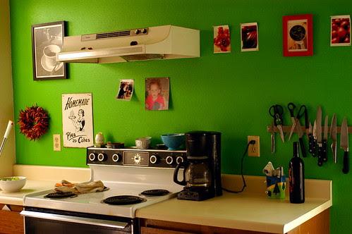 goodbye green kitchen