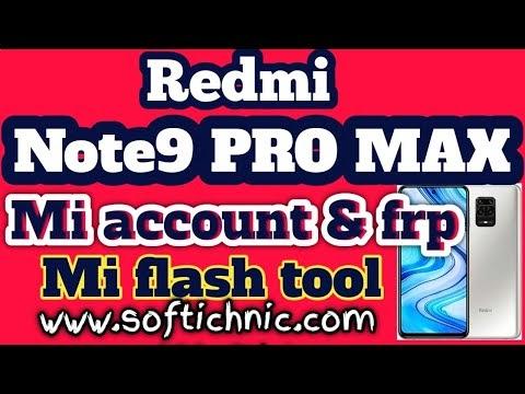 Redmi Note 10 pro max (sweetin) mi account free file | Redmi note 10 pro max mi account frp unlock by softichnic