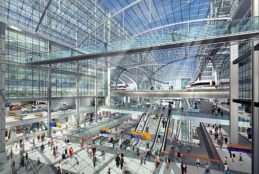Berlin Hauptbahnhof, Jerman