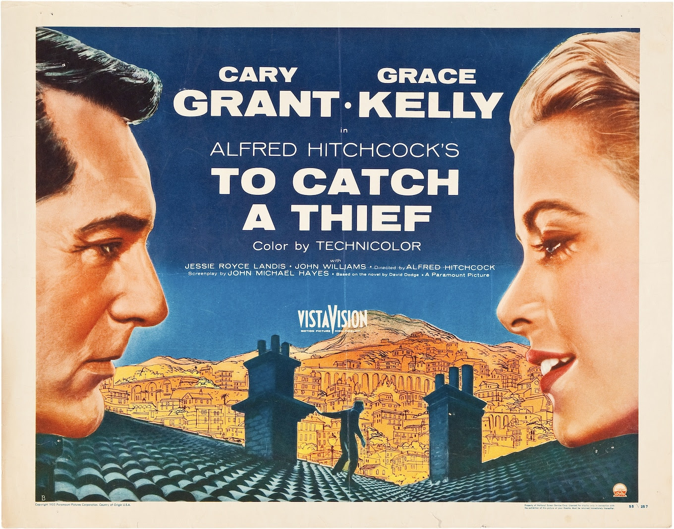 Image result for to catch a thief poster