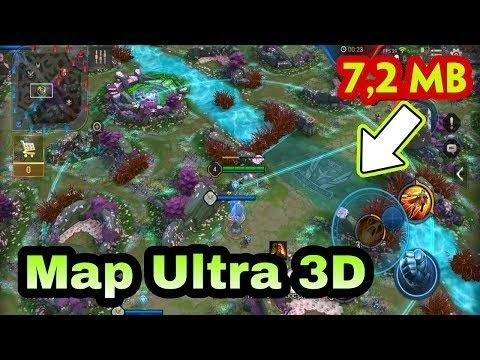 MOD Map Ultra 3D hiệu ứng hoa đào cực đẹp và nhẹ chỉ 7,2MB full máy