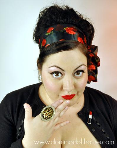 Domino Dollhouse Photoshoot