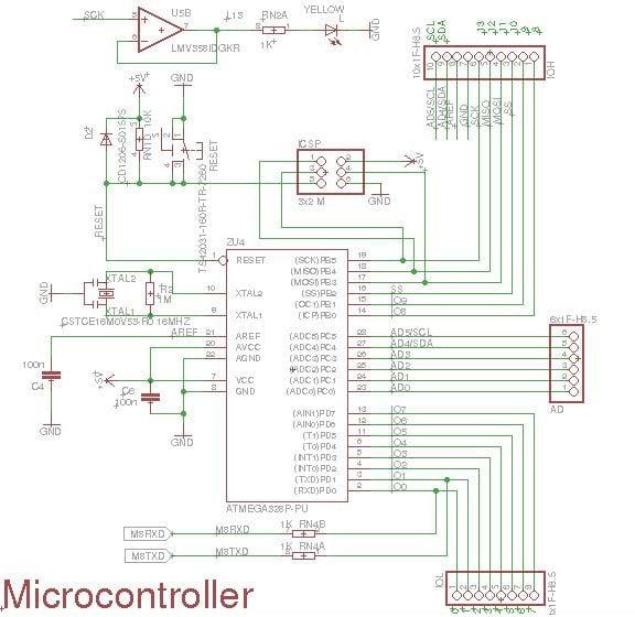 Arduino UNO R3 MCU Part