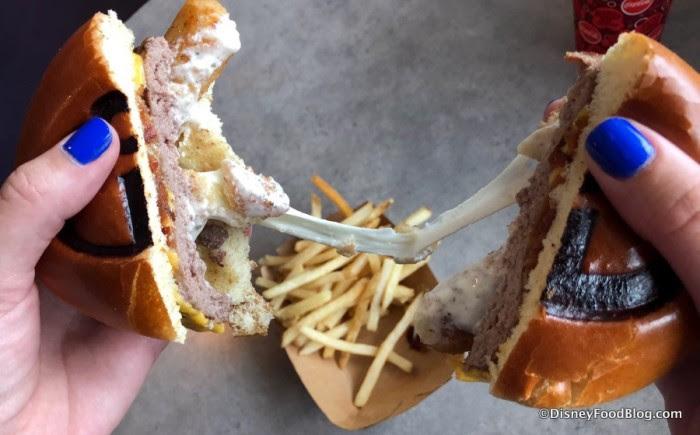 Super Stretchy Burger