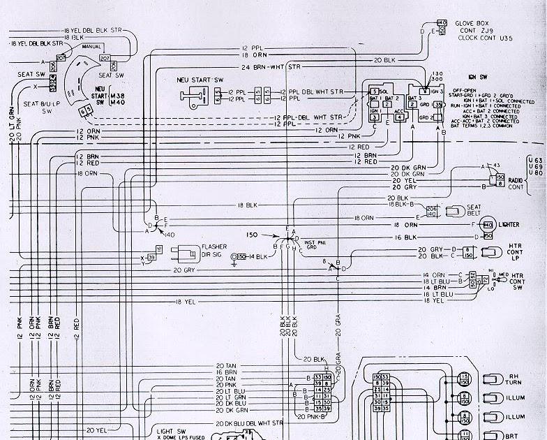 73 Camaro Wiring Diagram