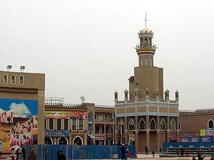 Kashgar is an oasis city in the Xinjiang Uyghu...