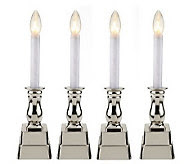 Bethlehem Lights Set of 4 Battery Op. Window Candles - H193166