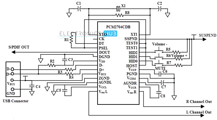Usb Mp3 Player Circuit Diagram Pdf Circuit Diagram Images