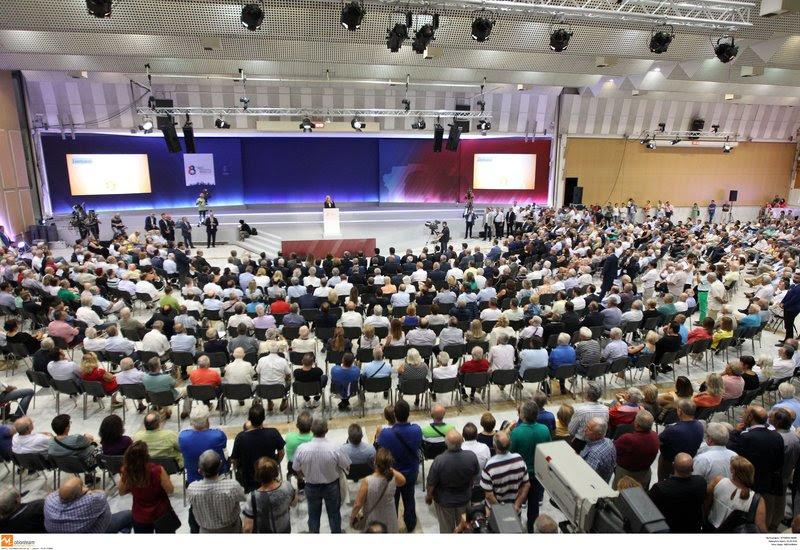 Ομιλία της Φώφης Γεννηματά στη ΔΕΘ /Φωτογραφία Eurokinissi