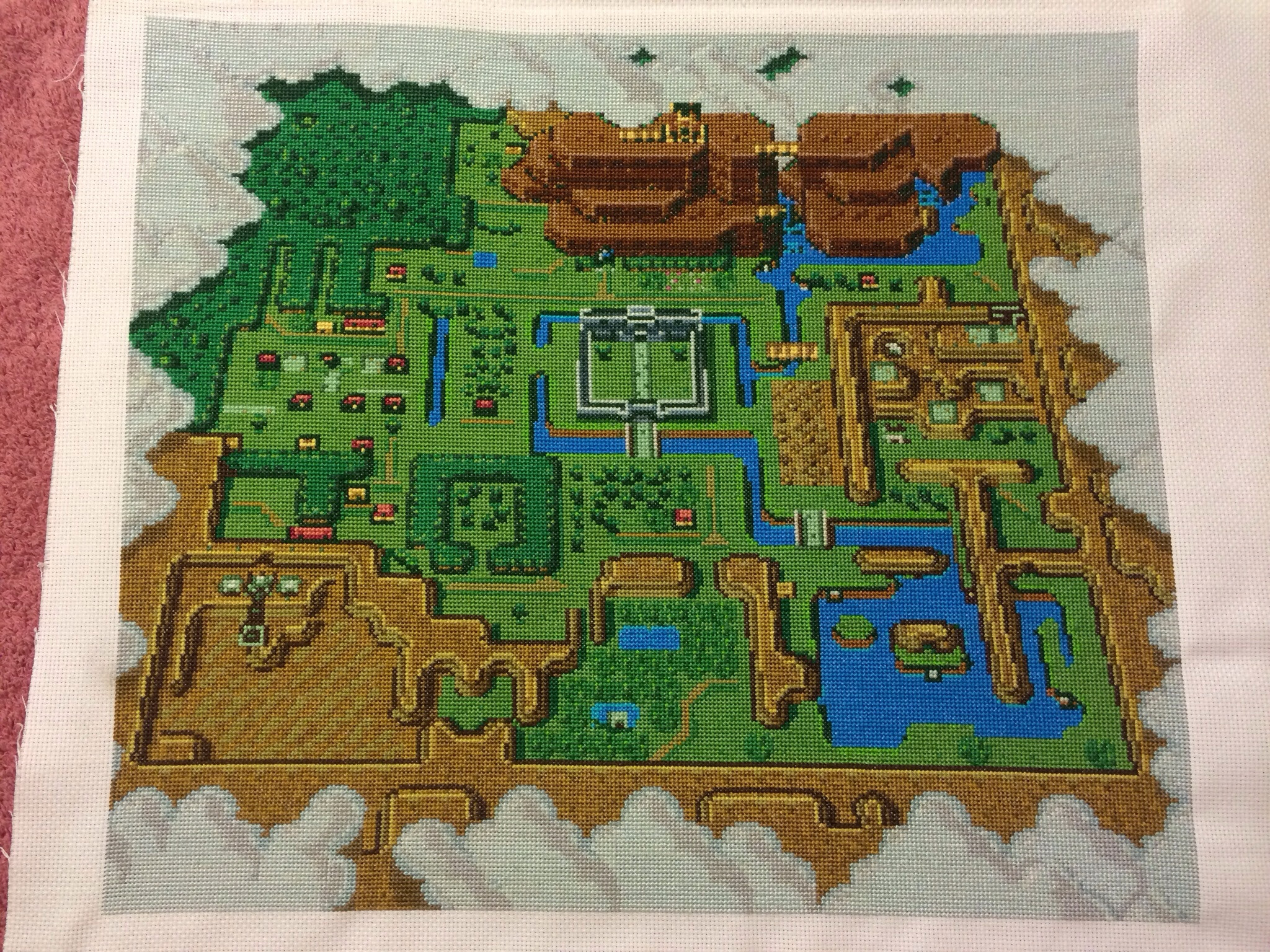This Legend Of Zelda A Link To The Past Cross Stich Is Incredible