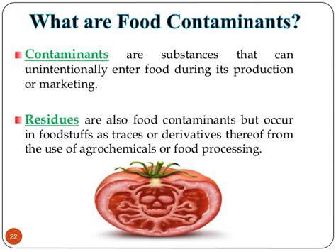 food intoxicant  prevention  contaminationdocx
