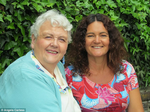 Michelle Rooney has been reunited with Angie Smith, her biological mother who abandoned her in a bin bag when she was born in 1968
