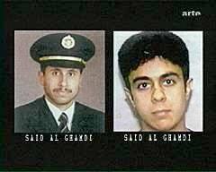 Los dos Saeed Al Ghamdi, el piloto de las líneas aéreas saudíes y el secuestrador