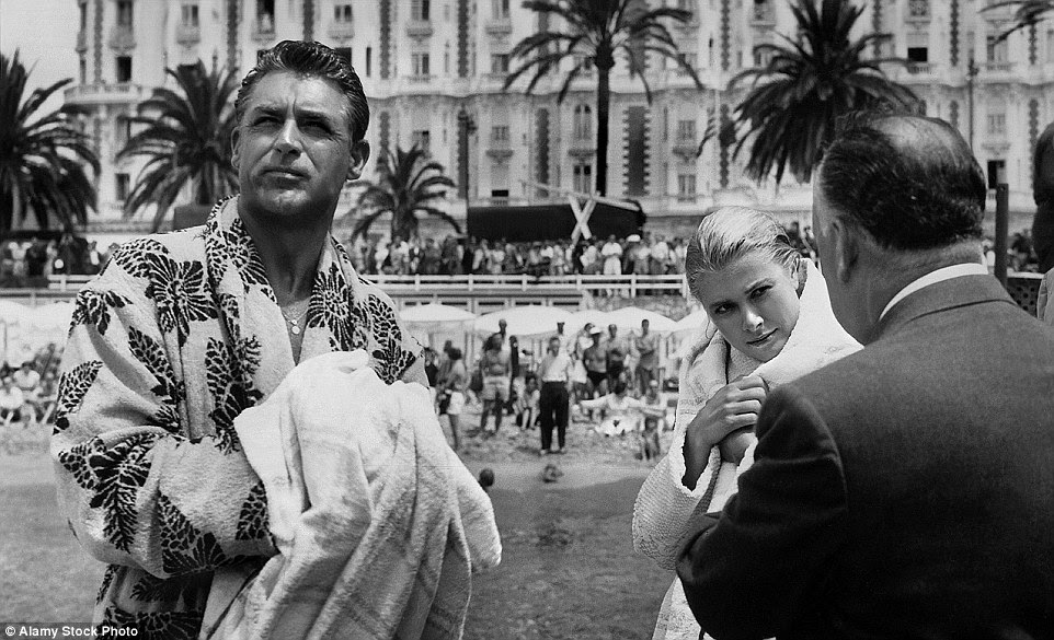 Hitchcock's To Catch a Thief with Cary Grant and Grace Kelly was filmed in and around Cannes in 1955