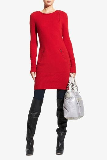 BCBGMAXAZRIA Cashmere Sweater Dress