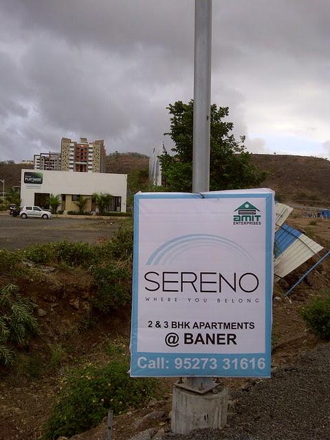 Pride Platinum & Amit's Sereno, 2 BHK & 3 BHK Flats near Pancard Clubs, Baner Pune 411045