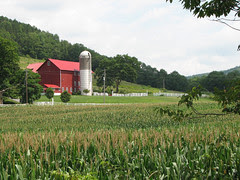 Catskills farm (by: Neill Cleneghan, creative commons license)