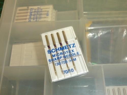 Schmetz Microtex Sharp 70/10 Needles