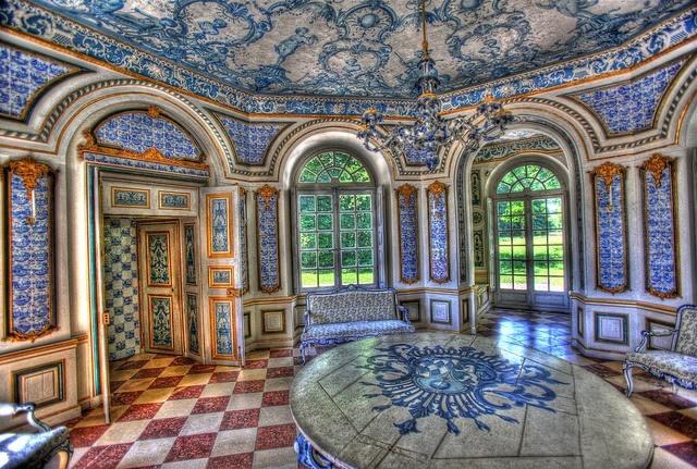 Inside the Palace - The Nymphenburg Palace...   gdfalksen.com