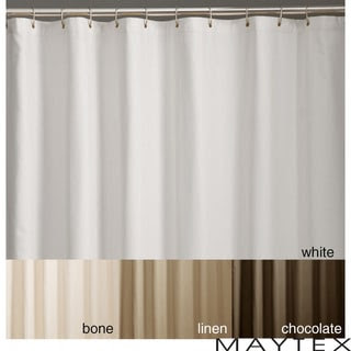 Microfiber Shower Curtain Liner | Overstock.com Shopping - The ...