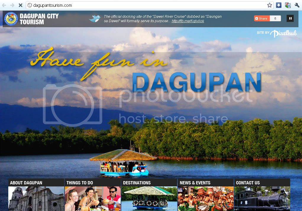 Dagupan City Tourism Website