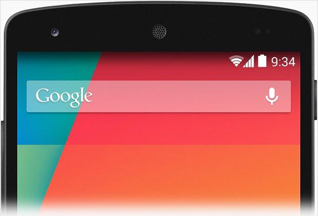 Busca por voz e via Google Now receberam melhorias significativas no Android 4.4 (Reprodução/Techcrunch)