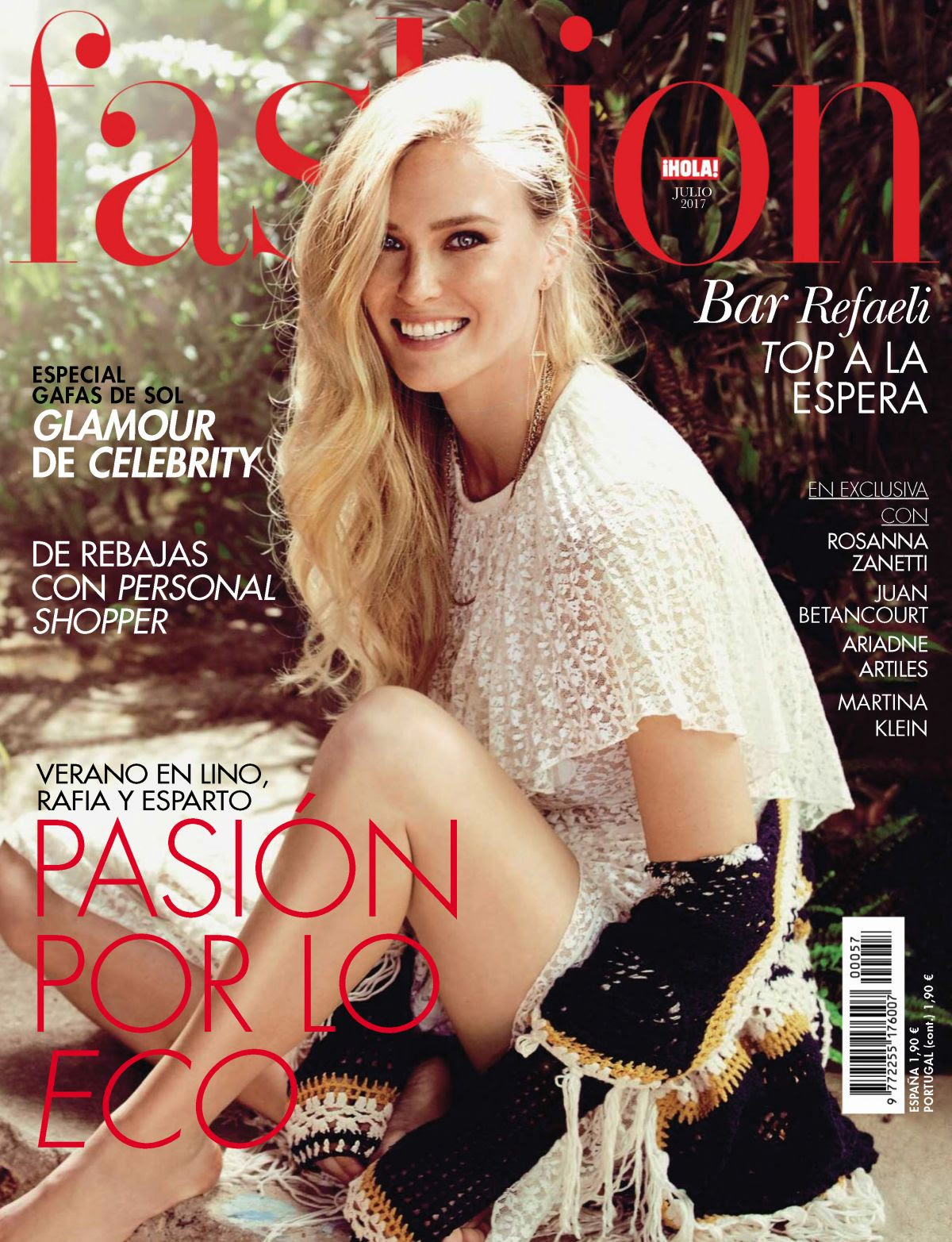 BAR REFAELI in Ihola Fashion Magazine, Spain July 2017