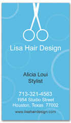 BCS-1034 - salon business card