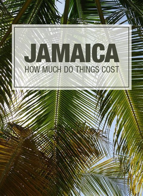 How Much Do Things Cost in Jamaica   Bucket List   Jamaica